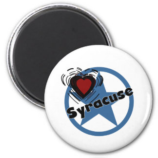 Love Syracuse 2 Inch Round Magnet