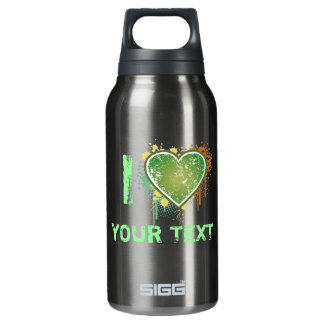 Love t 10 oz insulated SIGG thermos water bottle