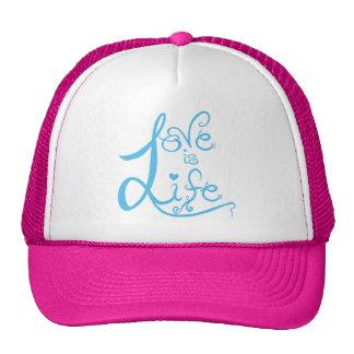 Love t mesh hats