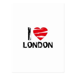 Love t postcard