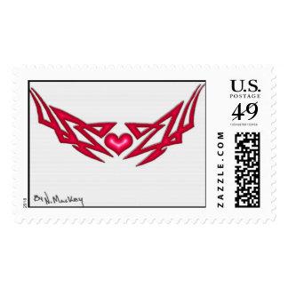 love tag stamp