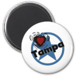 Love Tampa Magnets