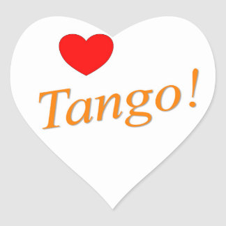 Love Tango! Heart Sticker