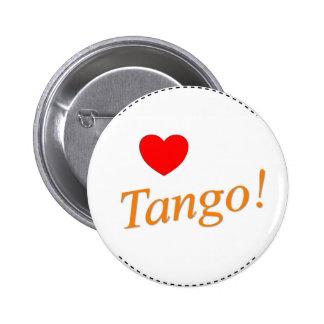 Love Tango! Pinback Button