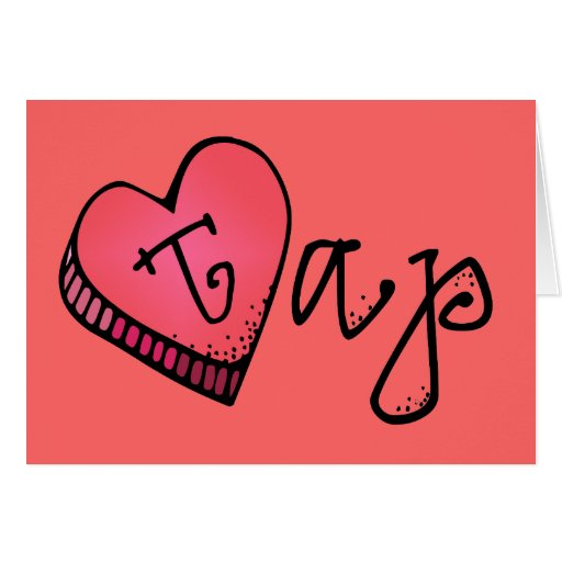 Love Tap | Candy Heart Card