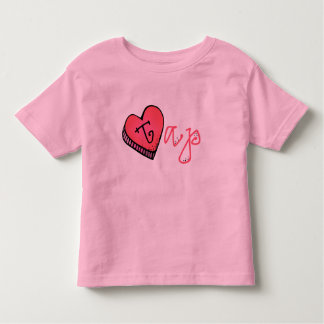 Love Tap   Candy Heart Toddler T-shirt