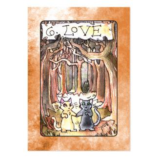 Love Tarot Card Business Card