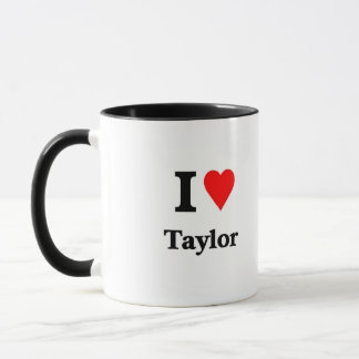 Love taylor mug