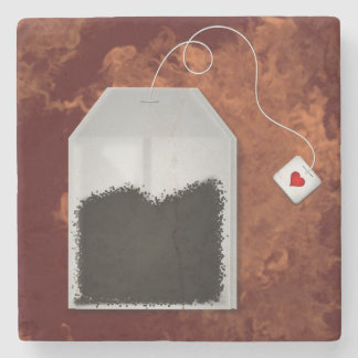 Love Tea Stone Coaster