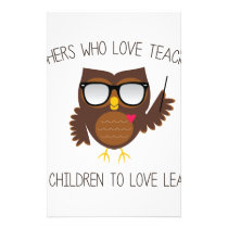 Love Teaching Stationery