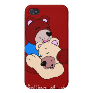 Love Teddy iPhone Case Cover For iPhone 4