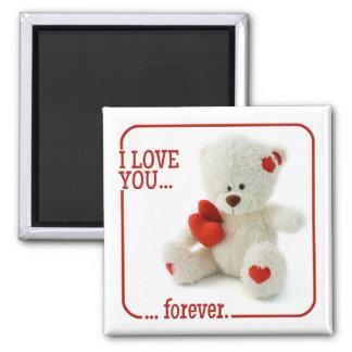 Love Teddy Valentine magnet