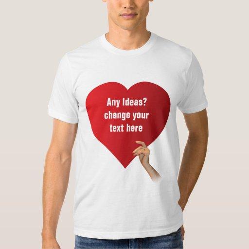 Love template t shirt zazzle for Zazzle t shirt template