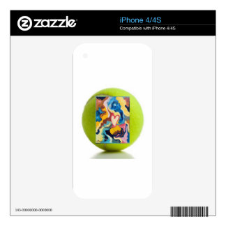 Love Tennis Ball Decal For iPhone 4