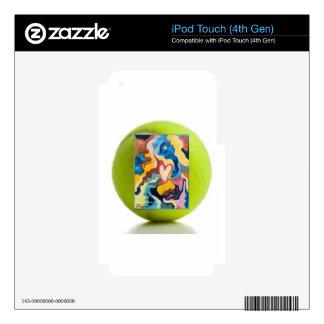 Love Tennis Ball iPod Touch 4G Decal