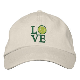 LOVE Tennis Embroidered Baseball Hat