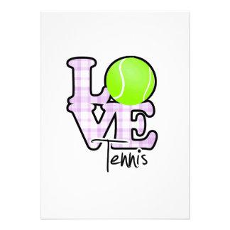 Love Tennis Invites