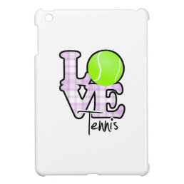 Love Tennis iPad Mini Case