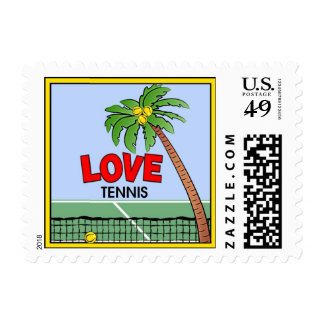 LOVE Tennis Stamps