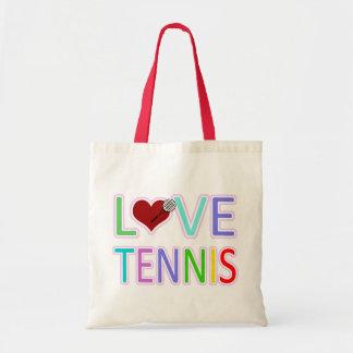 LOVE TENNIS TOTE BAG