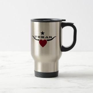 Love Texas 15 Oz Stainless Steel Travel Mug