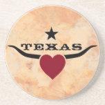 Love Texas Beverage Coaster