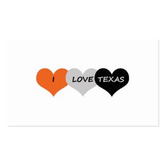 Love Texas Business Card
