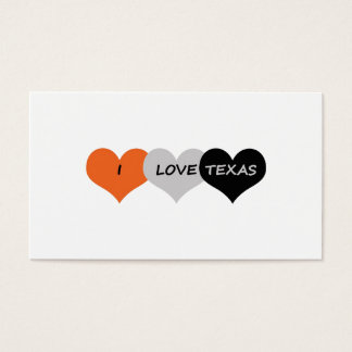 Love Texas Business Card