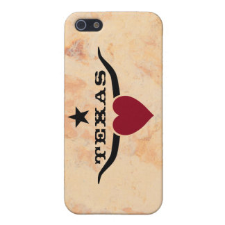 Love Texas Cover For iPhone SE/5/5s