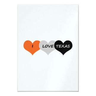 Love Texas 3.5x5 Paper Invitation Card