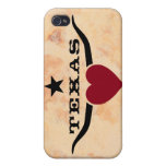 Love Texas iPhone 4 Cases