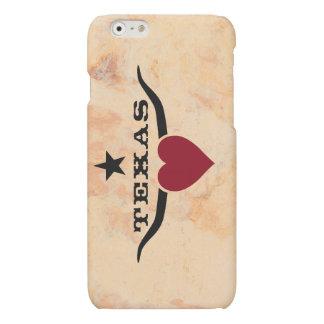 Love Texas Matte iPhone 6 Case