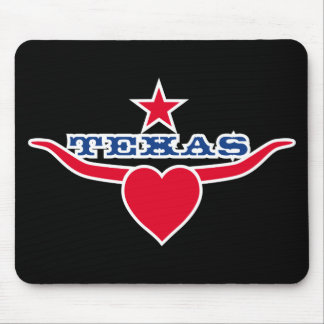 Love Texas Mouse Pad