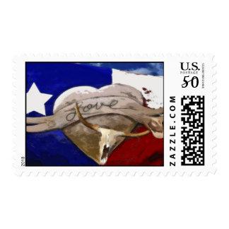 Love Texas Style Postage