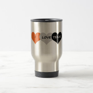 Love Texas Travel Mug