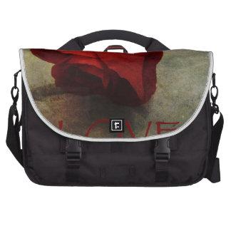 Love Textured Rose Romantic Series 1 Laptop Computer Bag