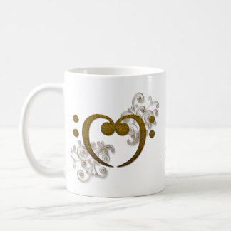 Love that Bass - its all about the Bass Classic White Coffee Mug