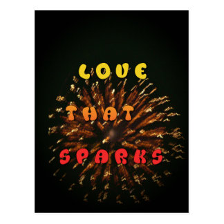 lOVE THAT SPARKS hAKUNA mATATA SPARKING.png Postcard