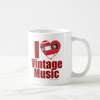Love That Vintage Music Coffee Mug