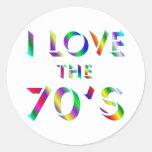 Love the 70's sticker