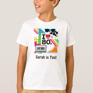 Love the 80s Customized T-shirt