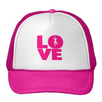 Love the ballet hats