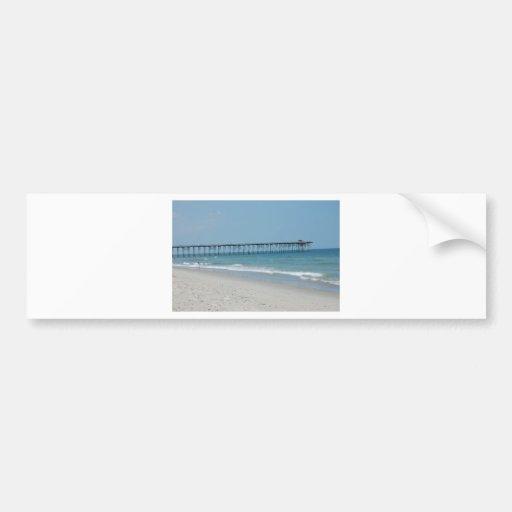 Love the Beach Car Bumper Sticker