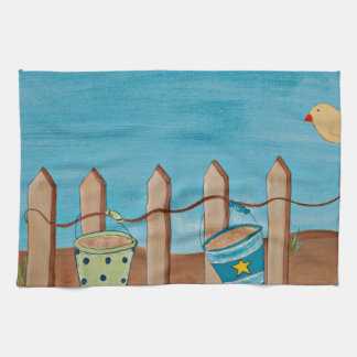 Love the Beach-Hand painting Towels