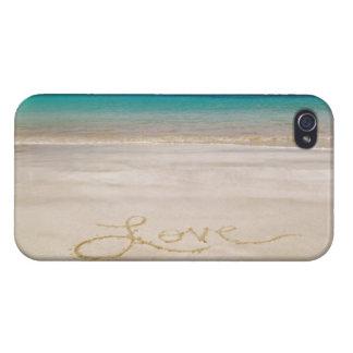 Love the Beach Sand Sun iPhone 4 Case