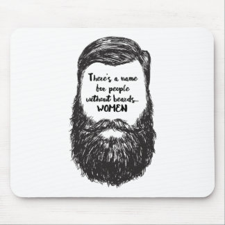 Love the Beard Mouse Pad