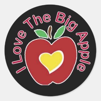 Love The Big Apple Sticker