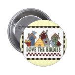 Love The Birds Button