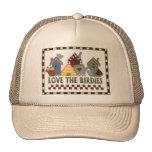 Love The Birds Mesh Hats