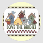 Love The Birds Stickers